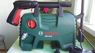 Минимойка BOSCH AQT 33-11 CARWASH-SET. Распаковка, обзор.