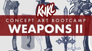 Concept Art BOOT CAMP 5: Creating ENDLESS IDEAS! (How to not get STUCK on one design!) thumbnail