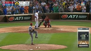 Coghlan asks for time, rips a two-run single