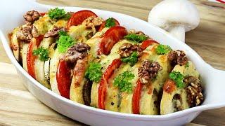 CIABATTA-TOMATEN-AUFLAUF | vegetarisch