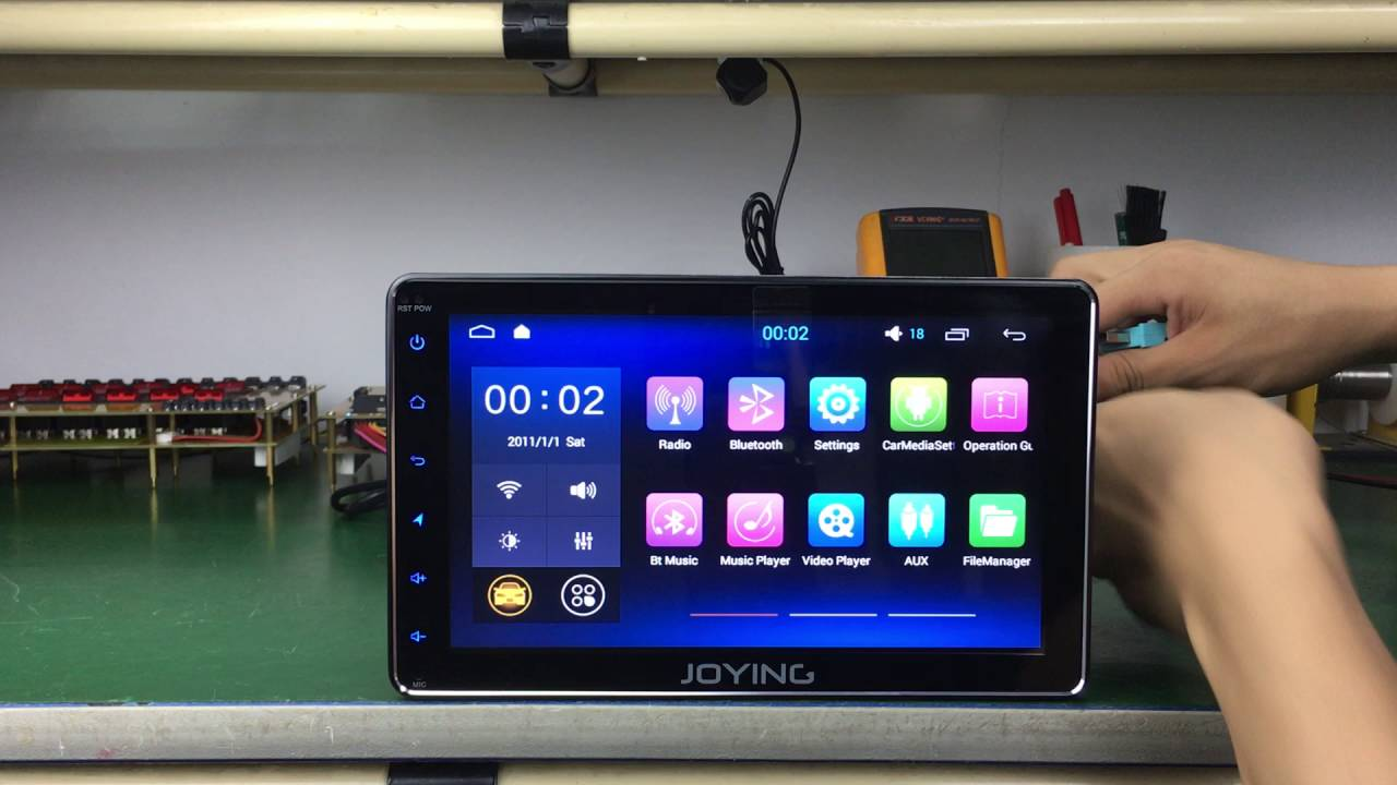 Joying 2 Din New Developed 8 Quot Android 4 4 Radio Head Unit
