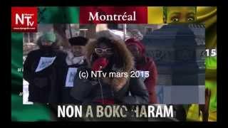 Montréal : NON à BOKO HARAM - 28 février 2015
