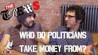 Who Do Politicians Take Money From? Russell Brand The Trews (E227)