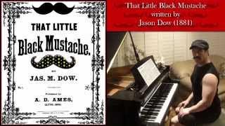 That Little Black Mustache ~  Pianist Don Puryear