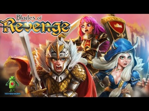 Blades Of Revenge RPG Puzzle IOS / Android Gameplay HD