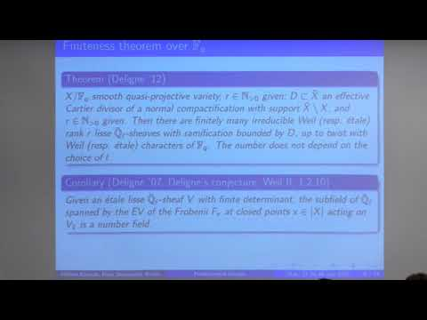 Some Fundamental Groups in Arithmetic Geometry   Hélène Esnault July 27, 2015