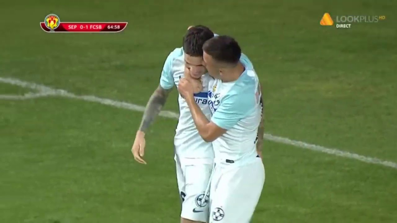 Sepsi OSK - FCSB 0-1 FCSB deschide scorul in Finala Cupei