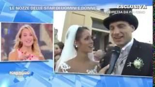 Il matrimonio di Teresa Cilia e Salvatore Di Carlo in diretta da Barbara D'Urso
