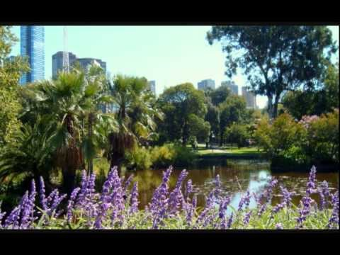 The Royal Botanical Gardens in Melbourne