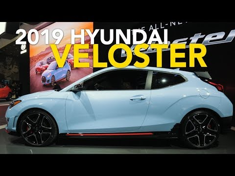 2019 Hyundai Veloster Veloster Turbo Veloster N 5 Things You Need to Know 2018 Detroit Auto Show