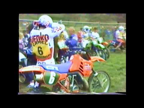 1985 World championship MX 250 11-12 May Belgium Borgloon Motocross / Vintage Mudfest