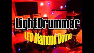 Fun Generation LED Diamond Dome | LightDrummer