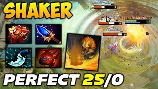 Top Dotabuff Perfect Earthshaker 25/0 dota 2
