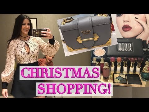 Let's Go Shopping! New Holiday Makeup, Prada Bags, Zara & Sephora