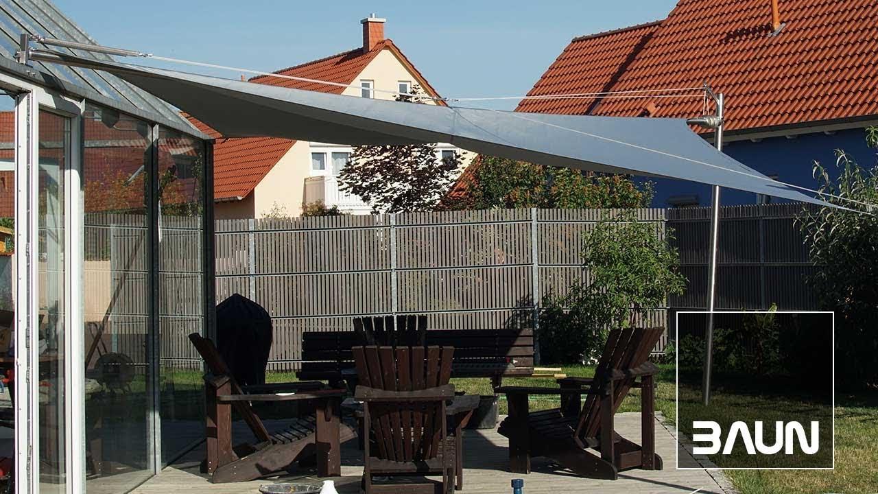 Sonnensegel Mit Motor : elektrisch aufrollbares sonnensegel mit motor selbst ~ Watch28wear.com Haus und Dekorationen