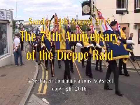 Commemoration of the Dieppe Raid 2016