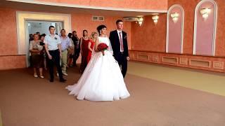 Торжественная церемония бракосочетания Андрей и Жанна 14 07 2018