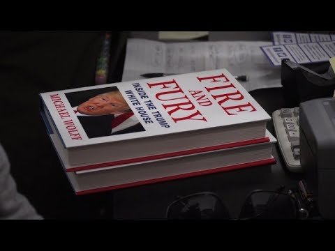 Bombshell book on Trump hits stores early