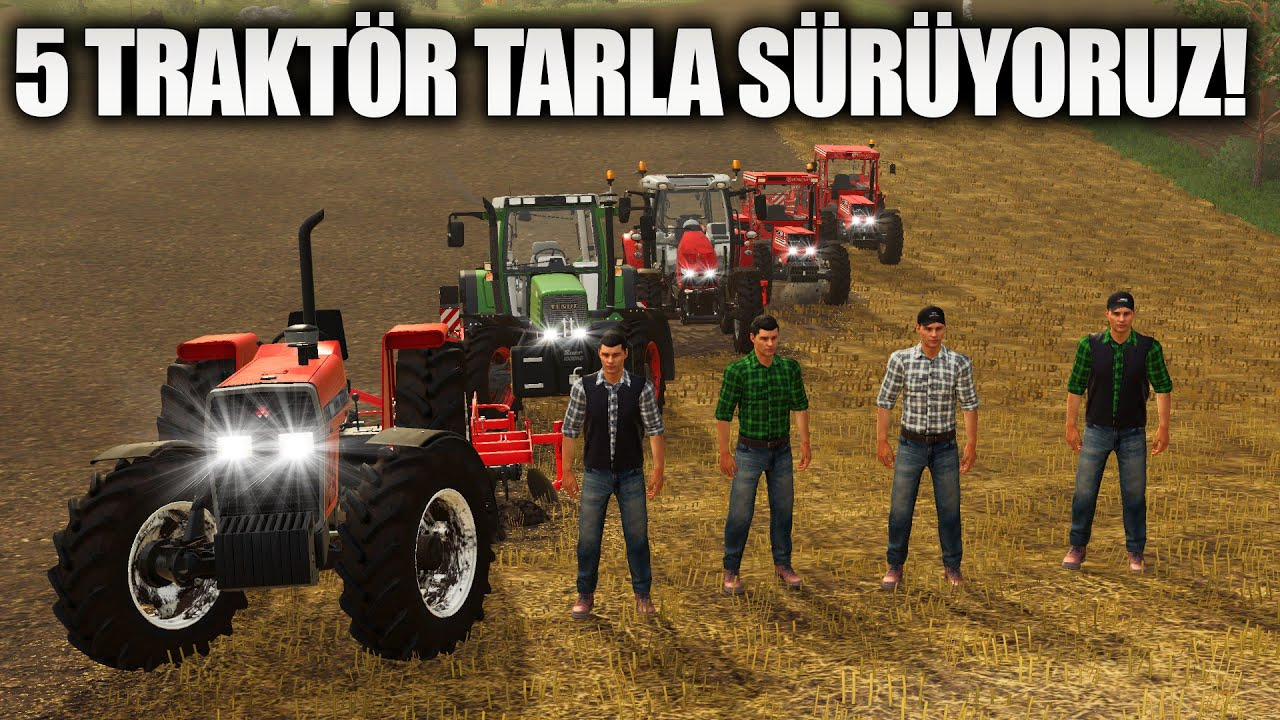 BU KALABALIK Bİ TIK FAZLA GİBİ // FARMING SIMULATOR 2019
