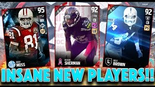 BRAND NEW PLAYERS JOIN THE SQUAD!! - Madden 17 Ultimate Team