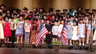 Ethan's Closing of the Ceremony - Kindergarten Graduation 2017