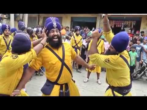 Daler Khalsa Gatka Group In Nagar | Kirtan | Nawanshahr mob..9853950000+919814641089