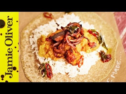 Aubergine Daal & Homemade Chapattis | Jamie Oliver