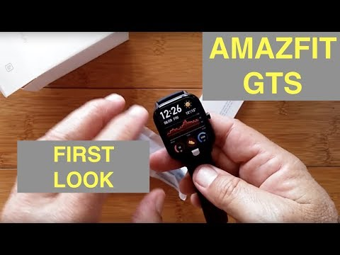 XIAOMI AMAZFIT GTS 5ATM Waterproof Sports Fitness Smartwatch: First Look
