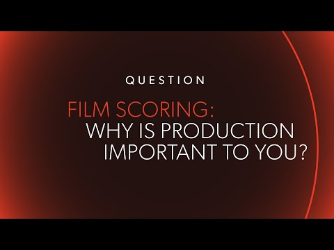 """Why is Production So Important for You?"" 