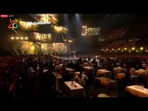 Pablo Alborán y Piso 21 'La Llave' Los 40 Music Awards 02.11.18.