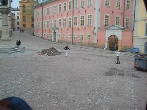 Stockholm tourist