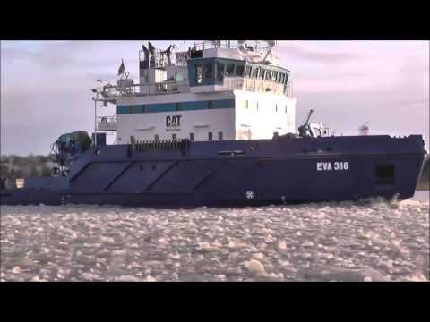 Estonian Maritime Administration ice breaker EVA-316