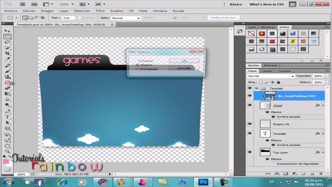 Como crear un folder (carpeta) PEDIDO ♥ - YouTube
