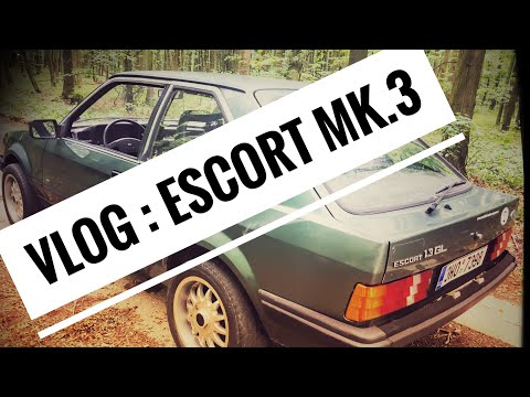 VLOG : Ford Escort Mk.3 1981