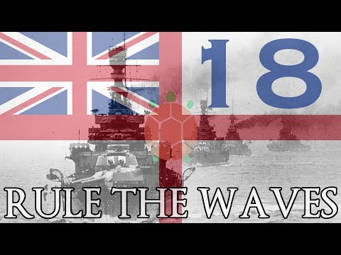 Rule the Waves | Let's Play Britain - 18 - Fleets Collide (Part 2)