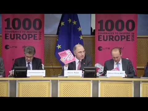 ELITE meets the 1000 Inspiring Companies at the European Parliament