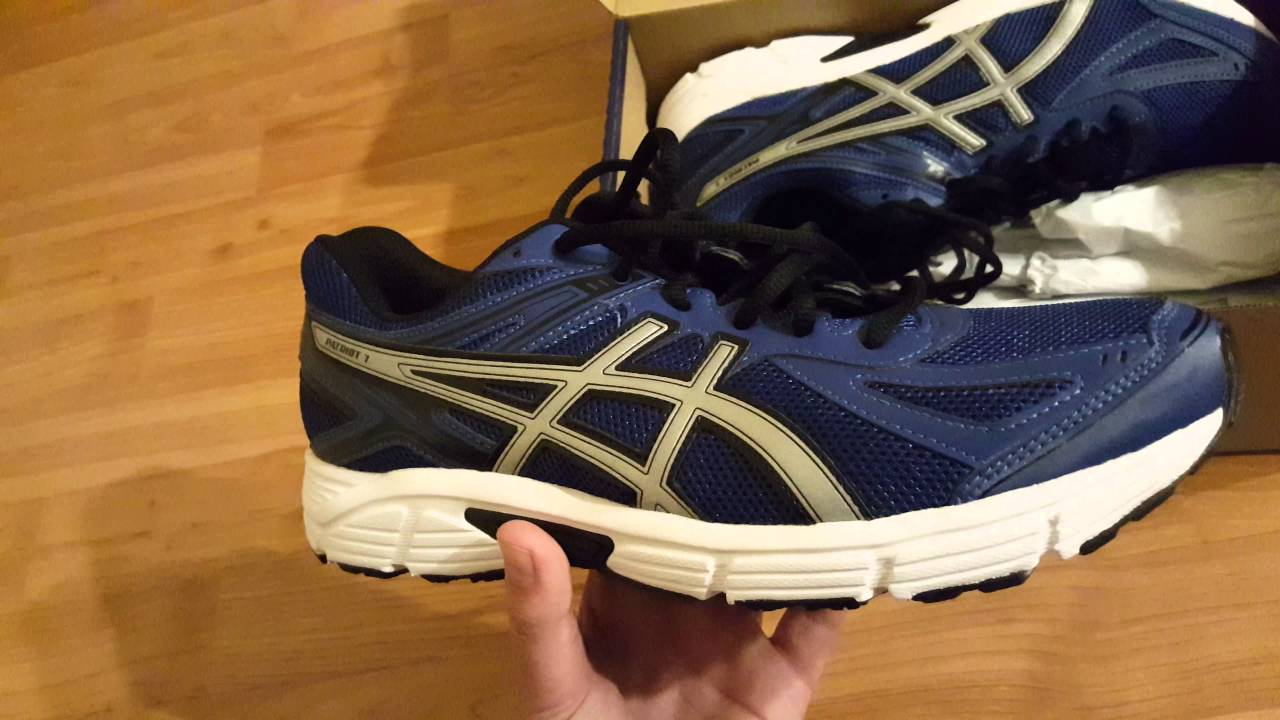 Asics Patriot 7 Men's Shoes Unboxing!!! 4K