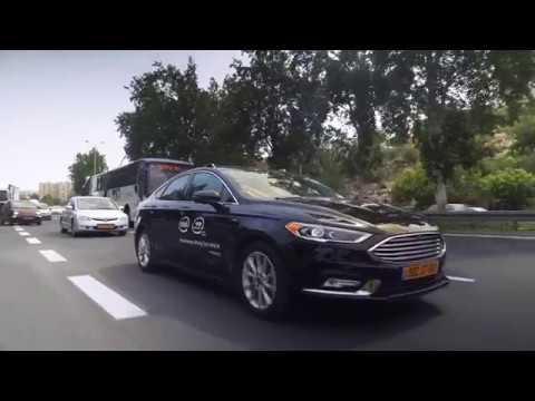 Primer auto totalmente automatizado realizado por Intel en Israel (VIDEO)
