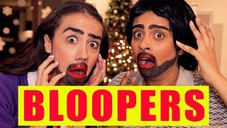 BLOOPERS: Getting Freaky on Christmas (ft. Miranda Sings)