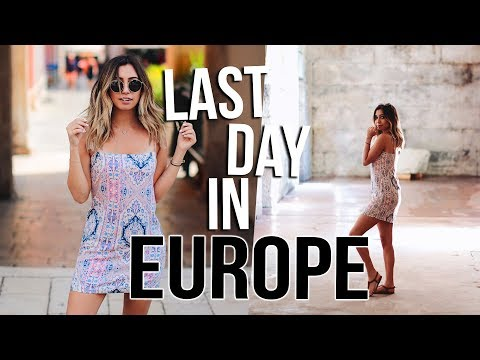 LAST DAY IN EUROPE :( Exploring Split, Croatia! Travel Vlogs!!!
