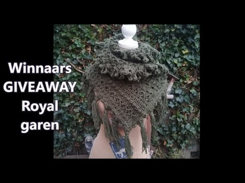 Kerstcal royal garen give away winnaars youtube