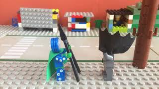 Lego batman vs the clock king