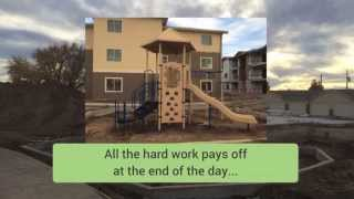 Playground Construction - Heron Village Apartments Meridian, Idaho