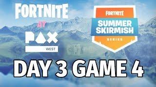 [Week8 Game4 Day3]Faze Jaomock Won Fortnite Summer Skirmish Pax West