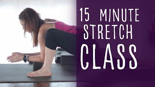 15 Minute Stretch Class Yoga with Fightmaster Yoga