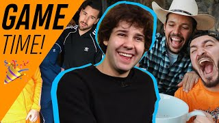 David Dobrik Plays Vlog Squad Superlatives: Who Does He Think Would Survive 'The Hunger Games'? Video
