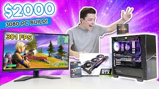 $2000 RTX 3080 Gaming PC Build! [MSI Suprim X 3080 - 15+ Games TESTED!]