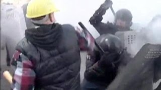 Violence escalates in Kyiv - no comment