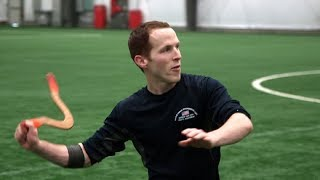Logan Broadbent's boomerang trick shots