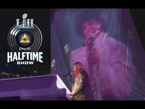 SUPER BOWL 52 HALFTIME SHOW ILLUMINATI EXPOSED...